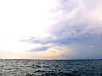 Wolken über der Ostsee