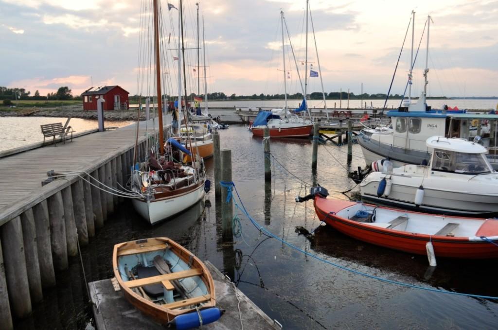 Strynø Hafenbecken